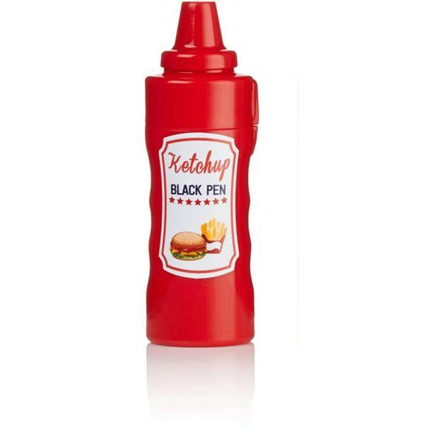 Stylo et marqueur moutarde et ketchup