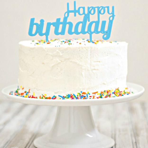 Kit décor gâteau anniversaire