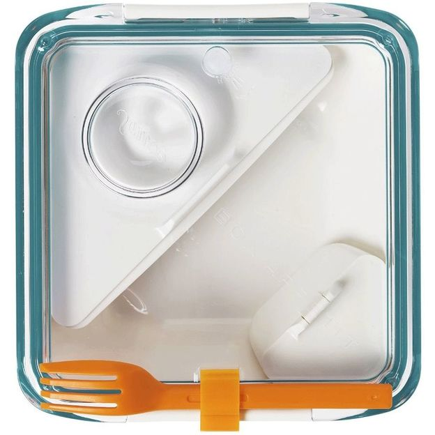 Lunch Box white/ocean
