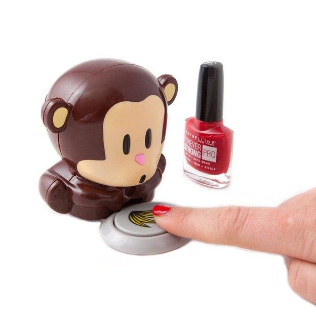 Sèche ongles singe