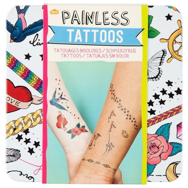 Tattoos schmerzfrei
