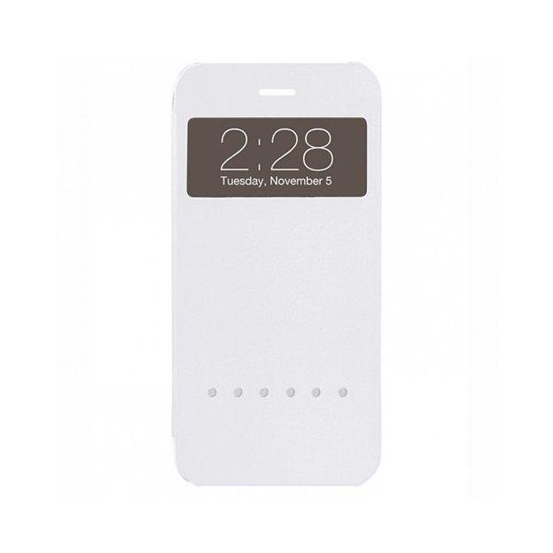 Housse Ozaki o!Coat Hel-ooo iPhone 6 PLUS blanc