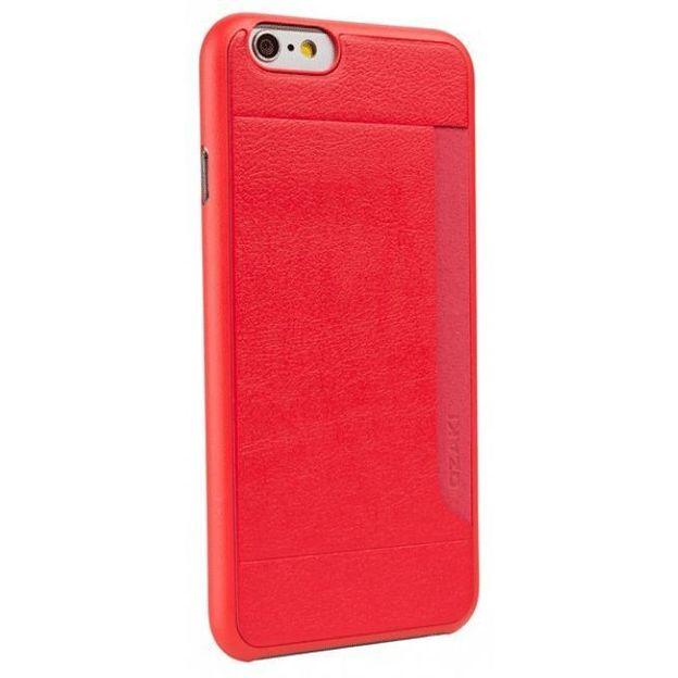 Coque Ozaki o! Coat Pocket pour iPhone 6 rouge