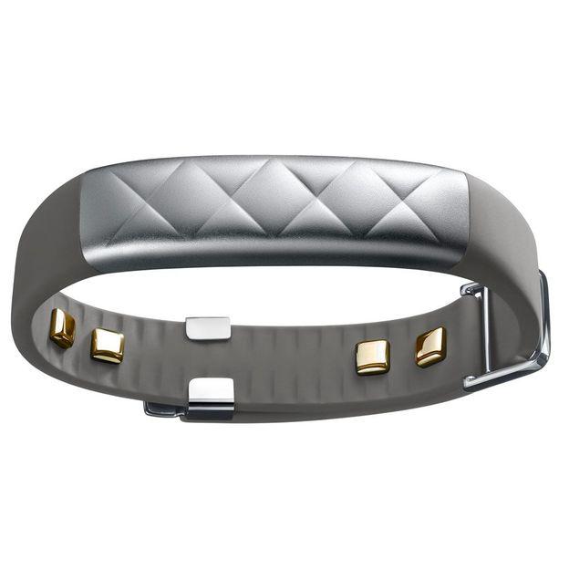 Jawbone UP 3 Bluetooth Fitnessarmband silber
