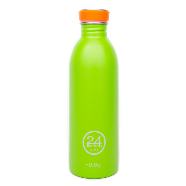 Trinkflasche 24bottles Lime Green