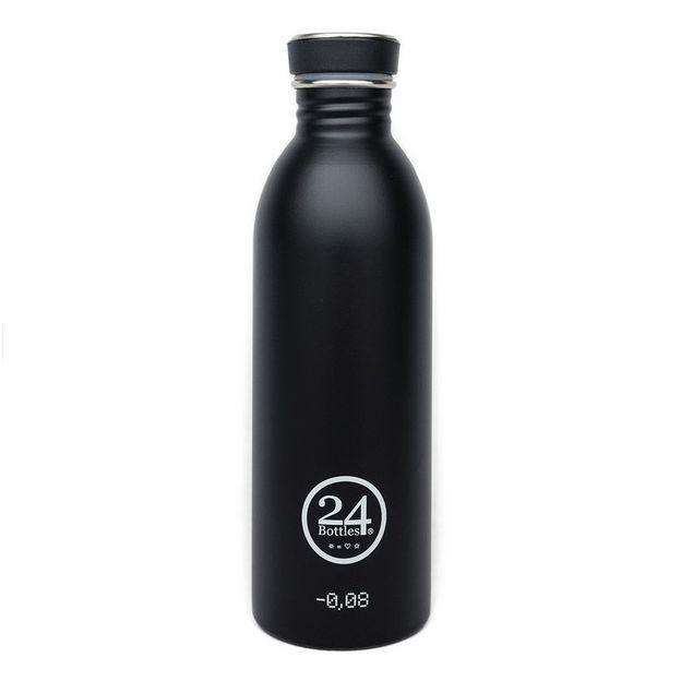 Trinkflasche 24bottles Tuxedo Black