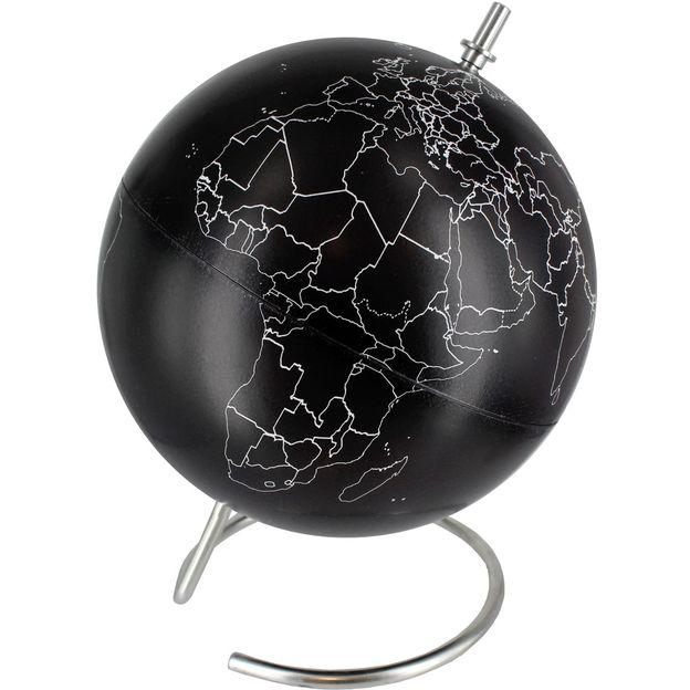 Kreidetafel Globus