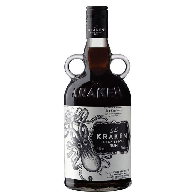 Rhum Ambré Kraken Black Spiced 70cl