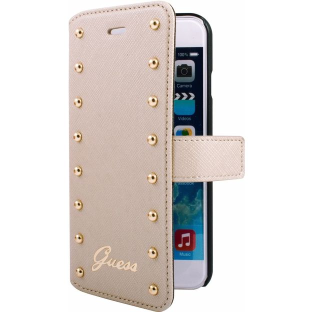 Etui Guess pour iPhone 6 Plus beige