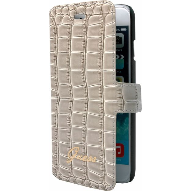 GUESS Crocodile Collection für iPhone 6 beige