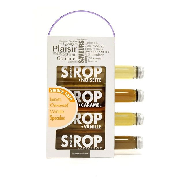 Kaffee-Sirup Set