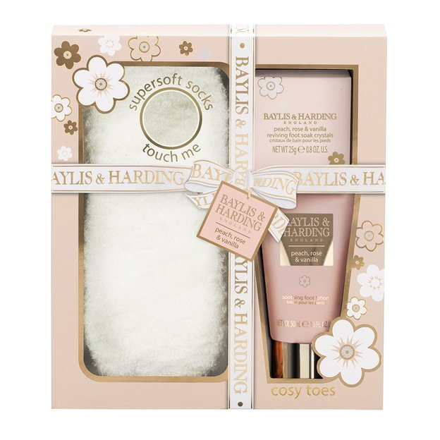 Fusspflege Set Peach, Rose & Vanilla