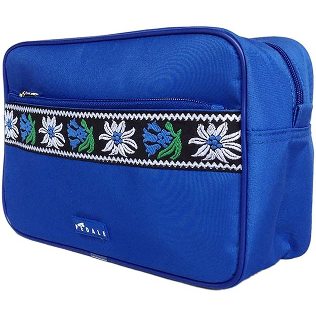 Trousse de toilette Edelweiss bordure bleue