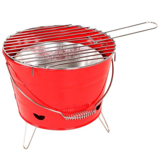 Barbecue portable rouge