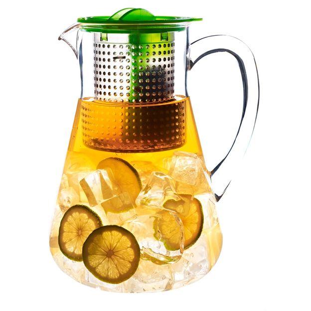 Carafe pour thé glacé Finum vert