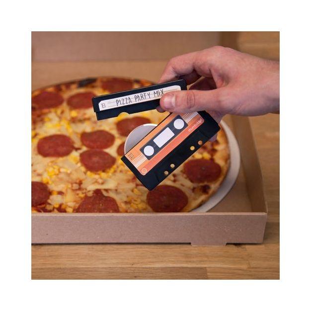 Pizzaschneider Retro Kassette