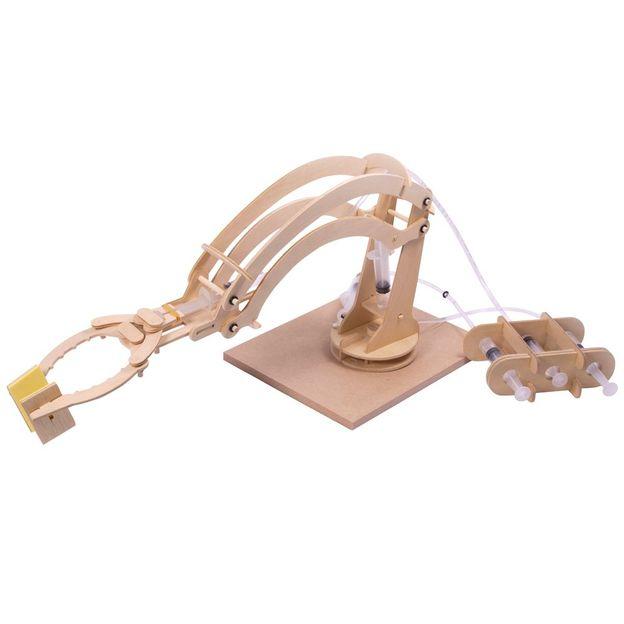 Hydraulischer Roboterarm - Selbstbaukit