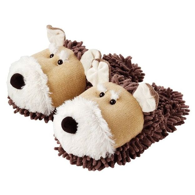Pantoufles Chien Fuzzy Friends