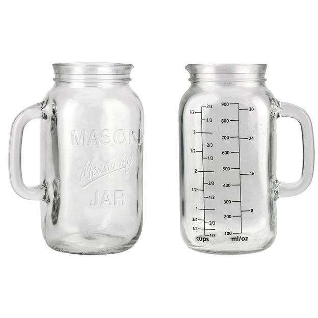 Einmachglas Massbecher