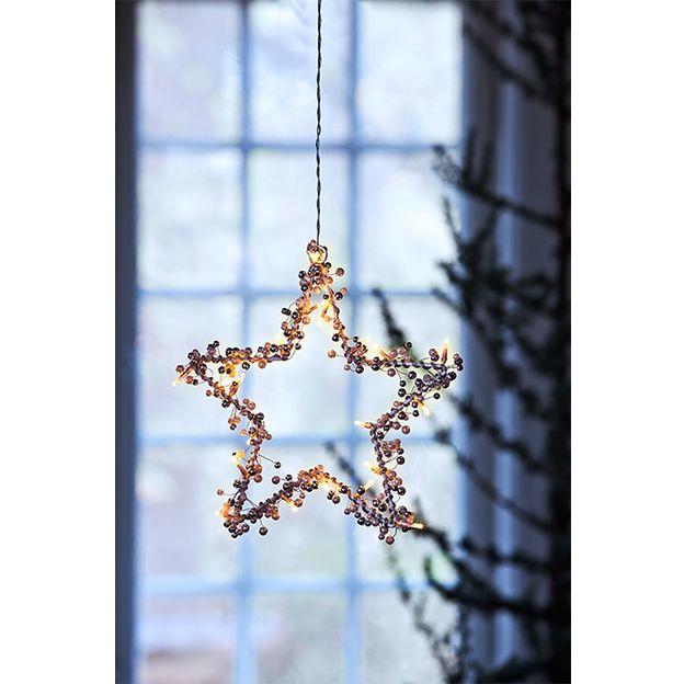 Etoile LED déco de Noël