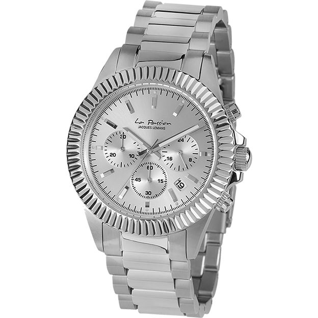 Jacques Lemans Montre Femme La Passion LP111 argent