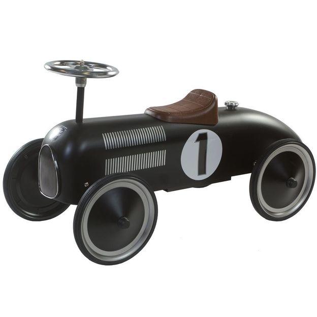 Retro Rutsch Roller schwarz