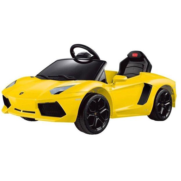 Elektroauto Lamborghini Aventador gelb