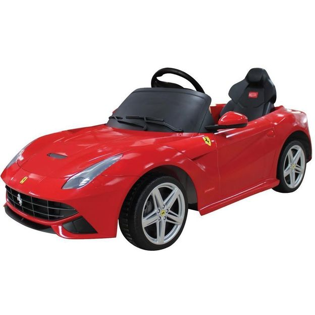 Elektroauto Ferrari F12 rot