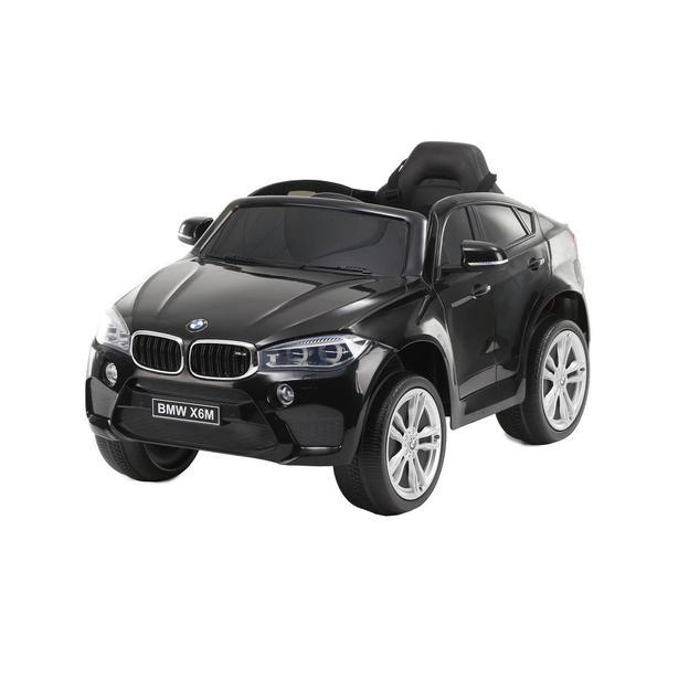 BMW X6M 12V schwarz, Elektroauto Kinder