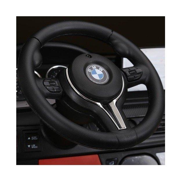 BMW X6 M schwarz Elektroauto für Kinder 12V