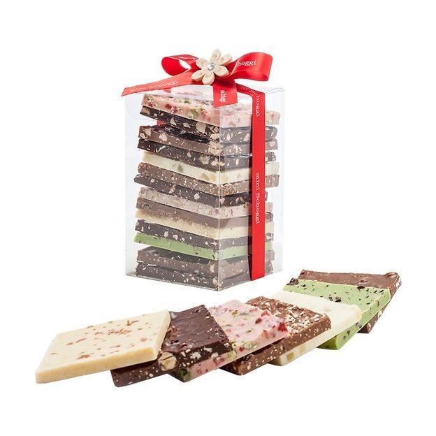 Assortiment 12 créations chocolat