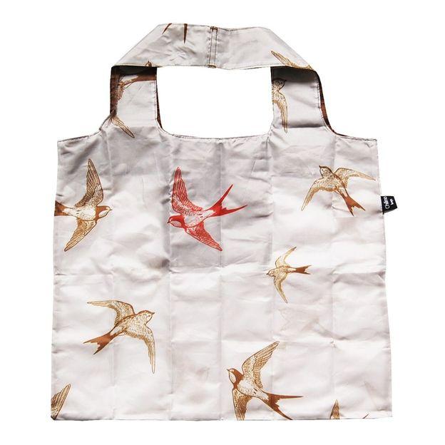 Einkaufsbeutel zusammenfaltbar Vögel