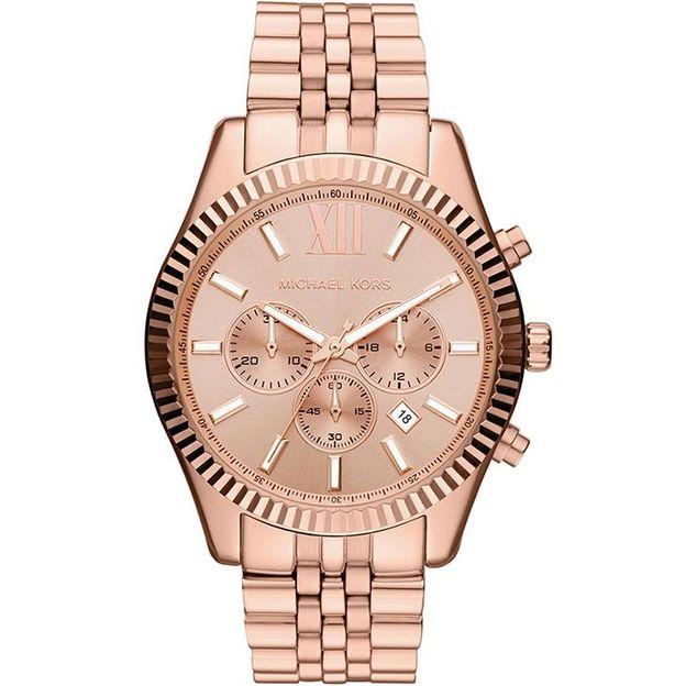 Montre rosée pour femme Michael Kors MK8319