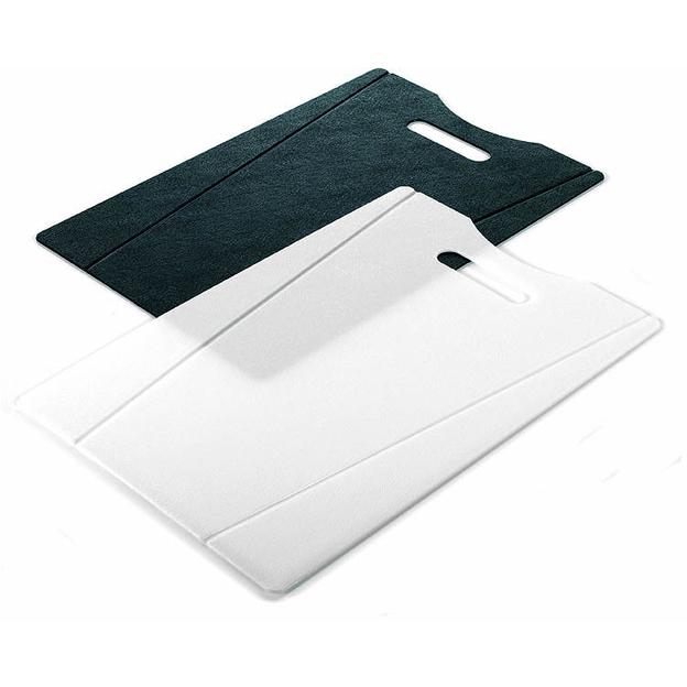 Set de 2 planches à découper Kuhn Rikon noir/blanc