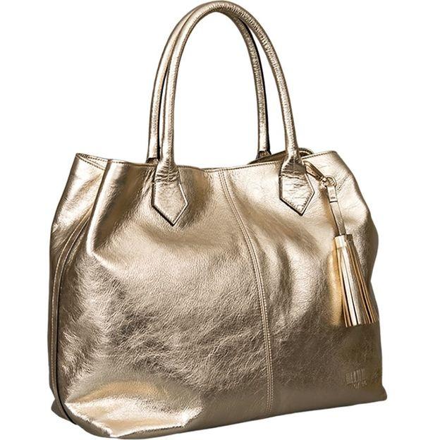 Shopper Kirsten Metallic gold