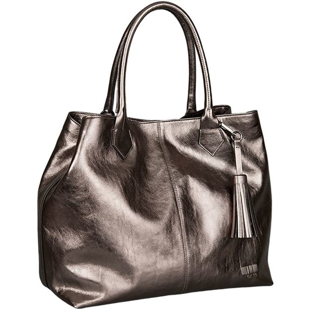 Shopper Kirsten Metallic titan