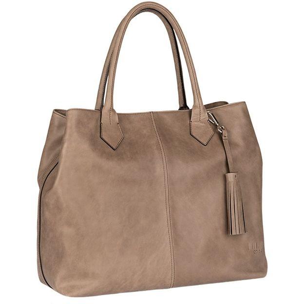 0714 Shopper Kirsten taupe