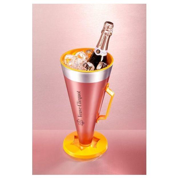 Veuve Clicquot Rosé 75cl - Scream Your Love mit Getränke-Kühler