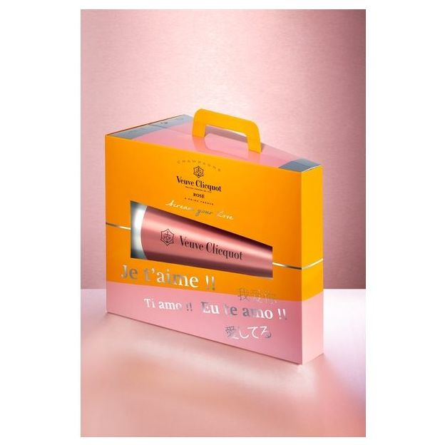 Veuve Clicquot Rosé - Scream Your Love 75 cl