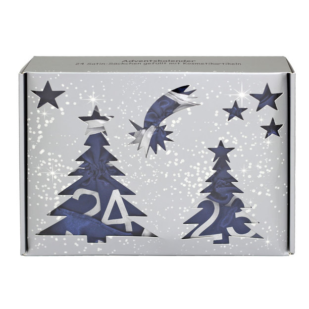Adventskalender Tannenbaum mit Make Up