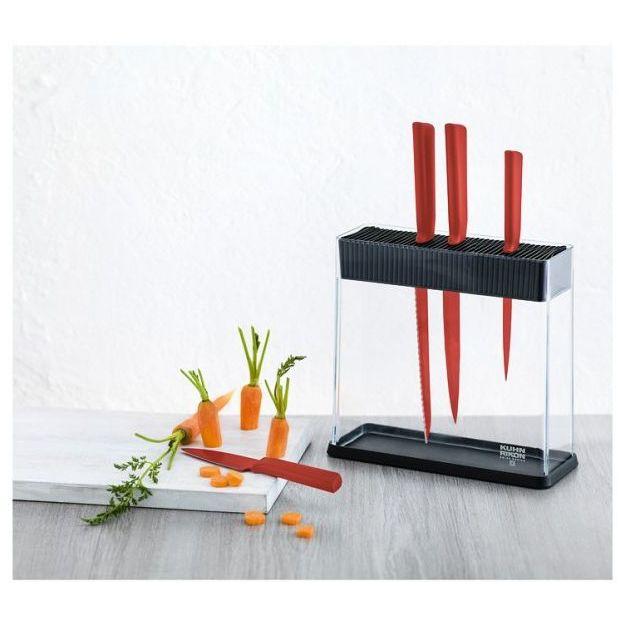 Messerblock COLORI+ mit Messer Set von Kuhn Rikon