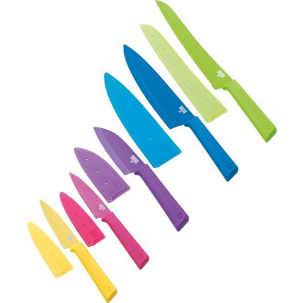Messerset COLORI+ 5-teilig von Kuhn Rikon