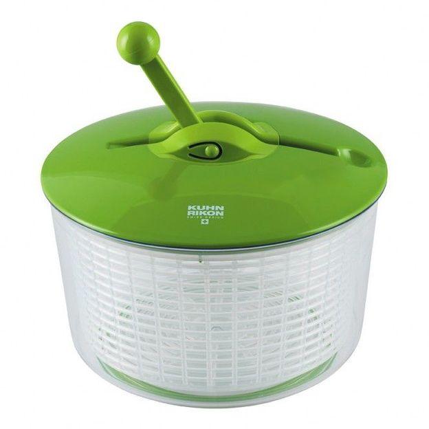 Salatschleuder Ratschen grün/hellgrün