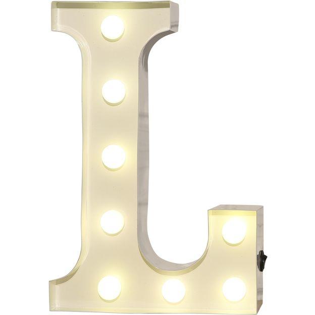 leuchtbuchstaben vegas lights aus metall. Black Bedroom Furniture Sets. Home Design Ideas