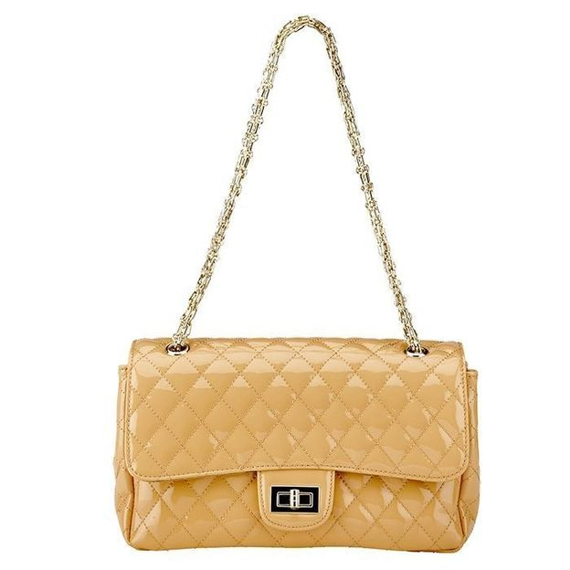 Princess & Cult Sac à main Rica vernis beige