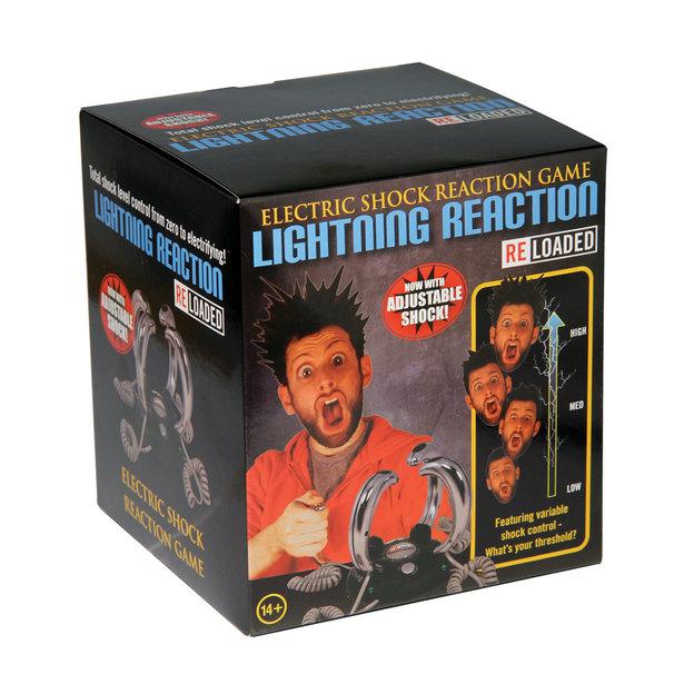 Elektroschock-Reaktionsspiel Lightning Reloaded