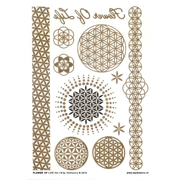 Flash Tattoos Flower of Life