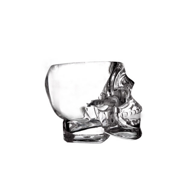 Verres à shot Crâne Crystal Head