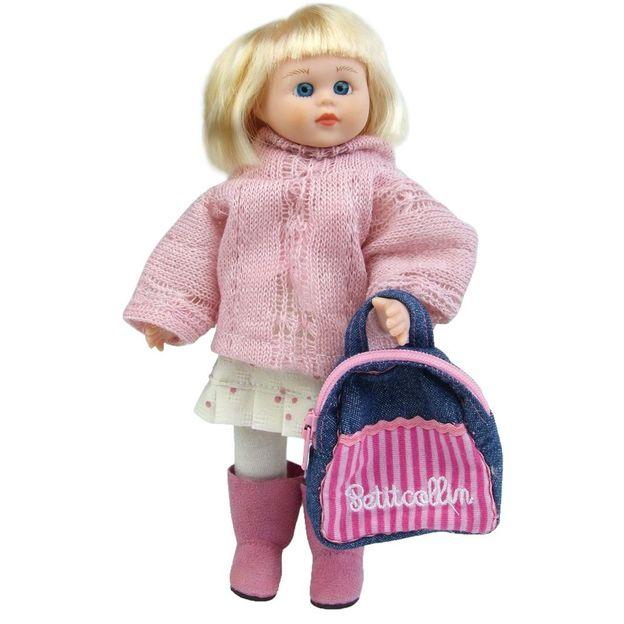 Puppe Camille mit Koffer