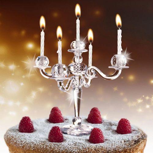 Image of Bling Bling Kerzenständer für Kuchen inkl. Kerzen